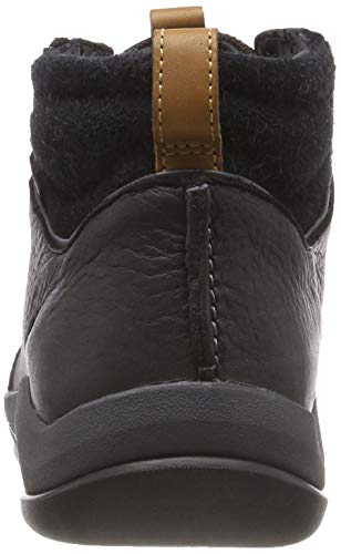 Clarks Stivali Nero black Leather Chelsea Ashcombemidgtx Uomo 0r5P0q
