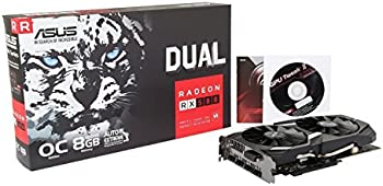 ASUS Radeon RX 580 O4G OC Edition GDDR5 AMD Graphics Card