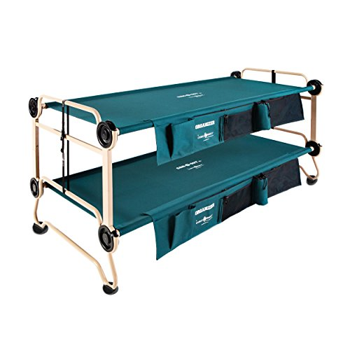 Disc-O-Bed Cam-O-Bunk Large Bunk Combo with 2