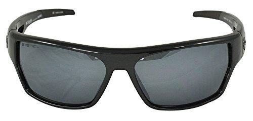 Columbia Tarpon Polarized Rectangular Sunglasses,Metallic Ebony,62 - Polarized Sunglasses Columbia