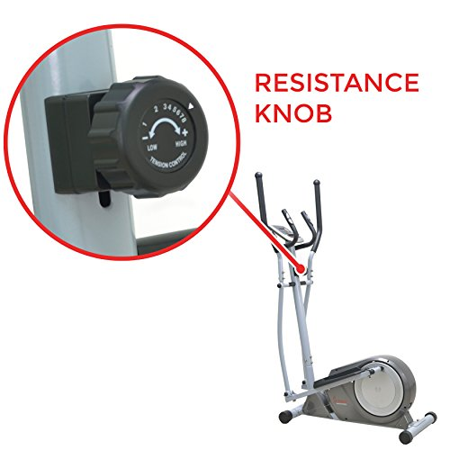 Sunny Health & Fitness SF-E3609 Magnetic Elliptical Trainer Elliptical Machine by Sunny Health & Fitness (Image #6)