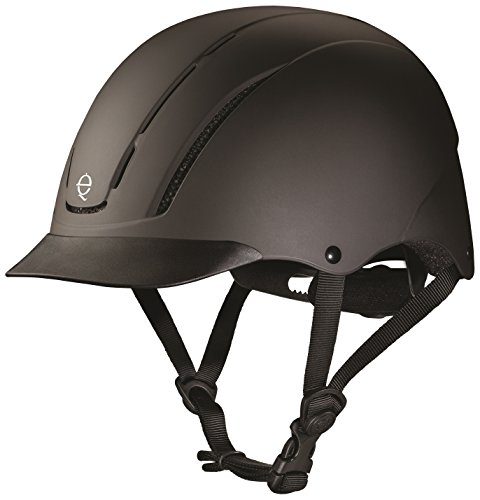 Helmet Chart Troxel Size (TROXEL SPIRIT 2017 DESIGN ♦ #1 EQUESTRIAN RIDING HELMET ♦ ASTM/SEI CERTIFICATION ♦ All Sizes and Colors (Black Duratec 2017, Large))