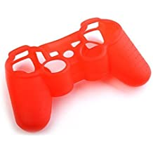 HBetterTech(TM) Silicone Rubber Grip Skin Case Cover for PS3 Playstation 3 Controller Colorful