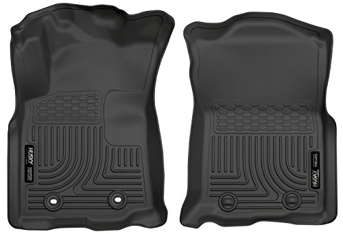 Husky Liners Front Floor Liners Fits 16-17 Tacoma Double/Access Cab - Automatic
