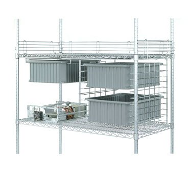 Nexel Wire Shelving Truck - 1