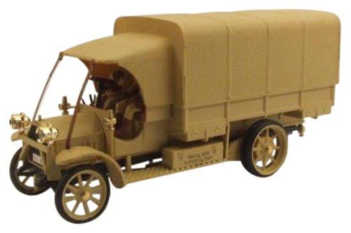 1/43 フィアット 18 BL 1919年イタリア軍 `Il Re del deserto` フィギュア2体 4378/P