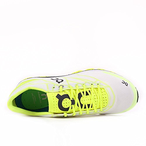 Su Running Womens Cloudflash Speed Shoe Neon / White Taglia 7