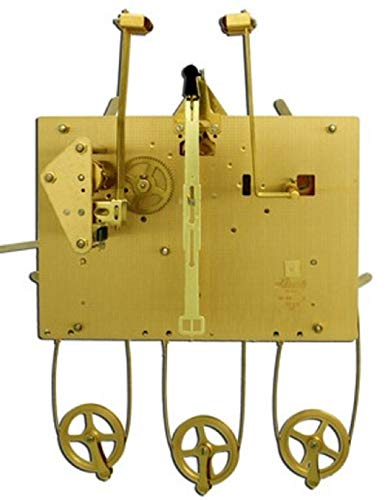 Hermle 1161-850 Triple Chime Cable Drive Grandfather Clock Movement (1161-850/114cm)