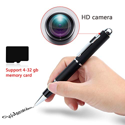 1080P HD Hidden Camera Pen - HD Spy Pen W/ 16GB Memory