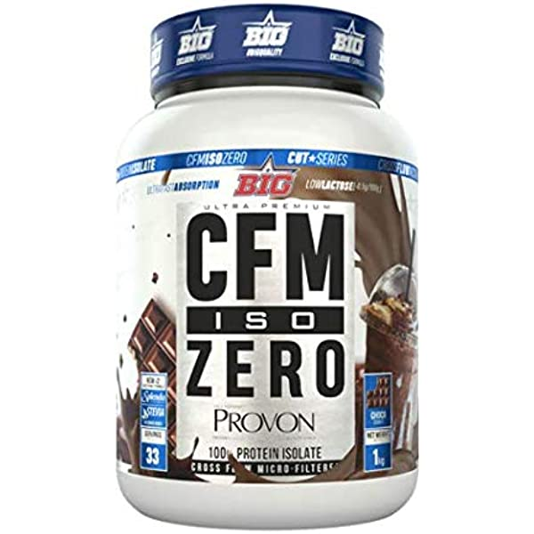 Big CFM Iso Zero - 1 kg Cookies and Cream: Amazon.es ...