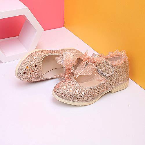 Divertidas Suela Botines Casa Zapatillas Oro Ashop Bebé Zapatos De Bebe Niña Sin Deportivos RqPRU1