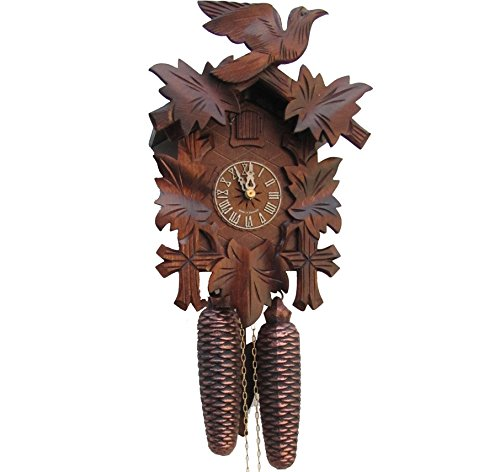 Sternreiter - German Hand Carved Cuckoo Clock with Eight-day -