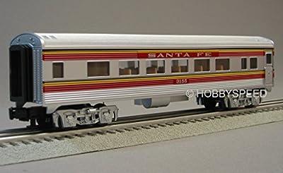 LIONEL SANTA FE CHIEF COACH CAR 3155 o gauge passenger 6-30178 train 6-35244 from Lionel