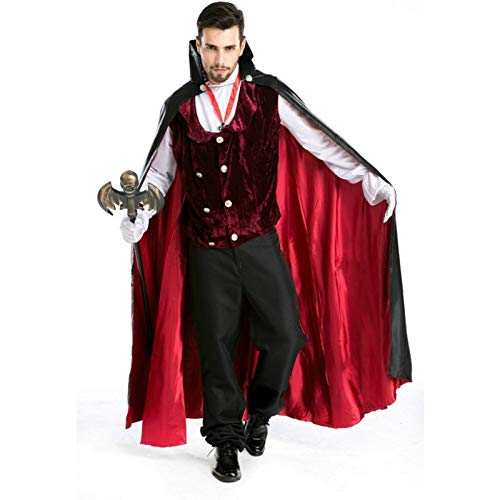 Zooka Adult Vampire Costume Role Play Halloween Count Dracula Cosplay Clothing Masquerade Vampire Cosplay Costumes Clothing