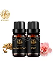Aphrosmile Rose Sandalwood Essential Oil - 100% Pure Rose Sandalwood Oil, Organic Therapeutic-Grade Aromatherapy Essential Oil 10mL/0.33oz