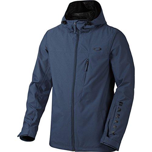 Oakley Windbreaker - Oakley Men's Cresent BZS Jacket, Medium, Blue Shade