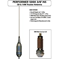 Sirio Performer 5000 3/8 NS 10m & CB Mobile 3/8 Trucker Antenna (No Shaft)