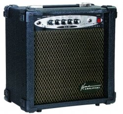 Kona Guitars KA20 20-Watt Guitar Amplifier with 8-Inch Speaker and Overdrive by Kona Guitars
