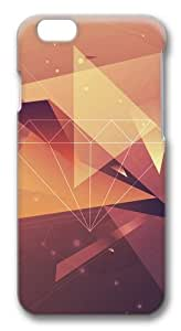 Abstract geometric Custom iphone 6 plus 5.5 inch Case Cover Polycarbonate 3D