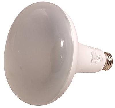 Osram Sylvania 79624 Contractor Series Led Flood Lamp, Br40, 13 Watts, 5000k, 80 Cri, Medium Base, 120 Volts, Dimmable, 2 Per Box (1 Box)