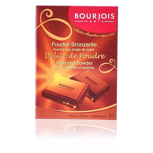 Bourjois Delice de Poudre Bronzing Powder - # 52 Peaux Mates/Halees 0.6 oz