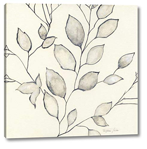 "Whispering Leaves II by Tava Studios - 28"" x 28"" Gallery Wrapped Giclee Canvas Print - Ready to Hang"