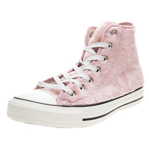 pelliccia Sneakers fur AS pelo autunno 2018 inverno alta faux collezione 2017 Rosa CONVERSE rosa HI nuova CT rTH50Tq