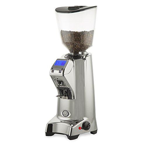 Eureka Olympus 75E Hi-Speed Espresso Grinder - Polished Aluminum