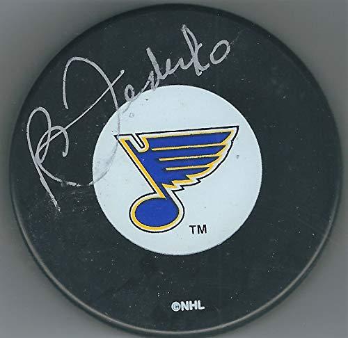 Autographed Bernie Federko St. Louis Blues Hockey Puck