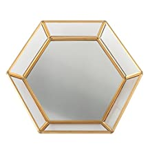 Lillian Rose GA212 B Mirrored Tray, Gold
