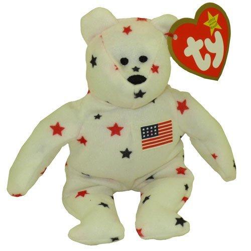 TY McDonald's Teenie Beanie - GLORY the Bear (1999) (5 inch) (Mad Teenies)