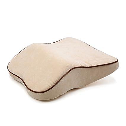 Amazon.com: eDealMax Beige pana apoyacabezas del asiento del ...