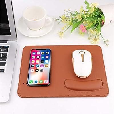 H.Eternal Carga inalámbrica USB ratón/Mouse Pad para iPhone ...