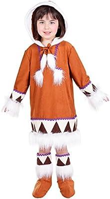 Disfraces Nines - Disfraz esquimal niña talla 7-9 años: Amazon.es ...
