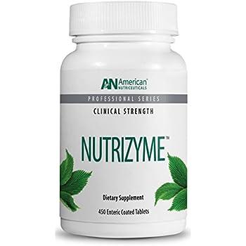 Amazon Com American Nutriceuticals Nutrizyme 450