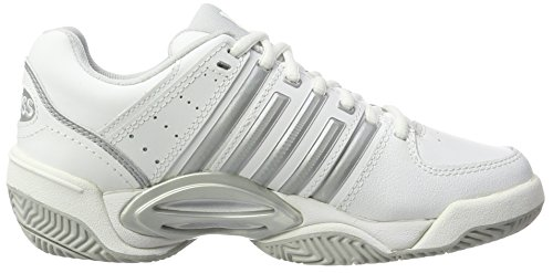 Glacier Silver TFW Damen Performance Weiß Gray White Tennisschuhe Accomplish K Swiss KS wqvzanpR