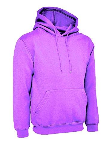 Solid 38 Fit 58 prendas 247 de mujer Wide Lila Color Sudadera Talla para con Unisex capucha Purple x7Bwq86