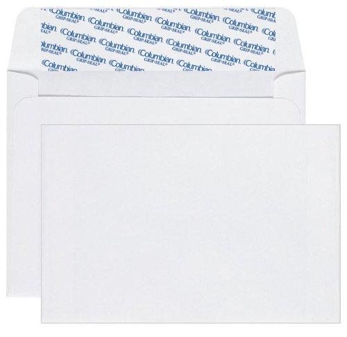 Columbian CO598 Grip-Seal Invitation/Greeting Card Envelopes A2, 4-3/8