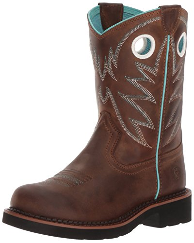 Kids Fatbaby Boots Western - Kids' Probaby Western Boot, Distressed Brown, 12 M US Little Kid