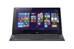 Sony VAIO Duo SVD13213CXB 13.3-Inch Convertible 2 in 1 Touchscreen Ultrabook (1.6 GHz Intel Core i5-4200U Processor, 4GB DDR3, 128GB SSD, Windows 8) Carbon Black