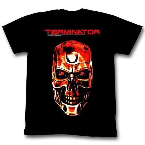 Official Terminator Exoskeleton T-800 Skull T-shirt. S to 6XL