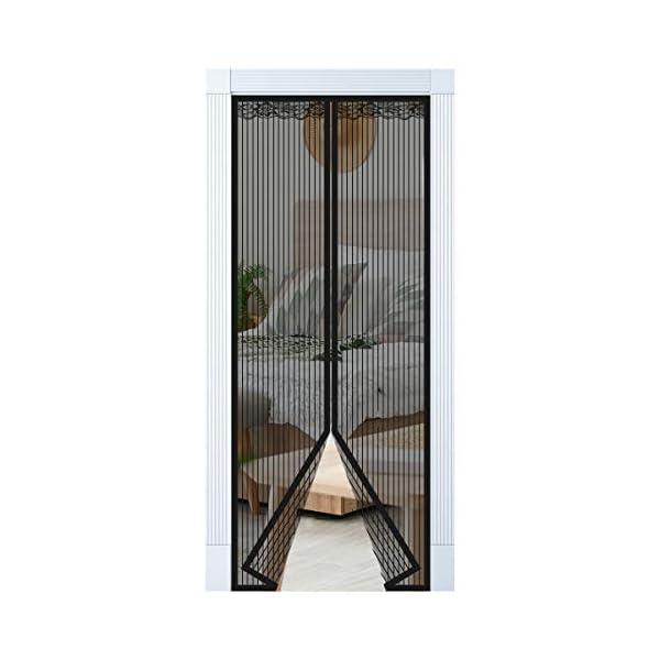 Magnet Fliegengitter Tür Vorhang für Holz