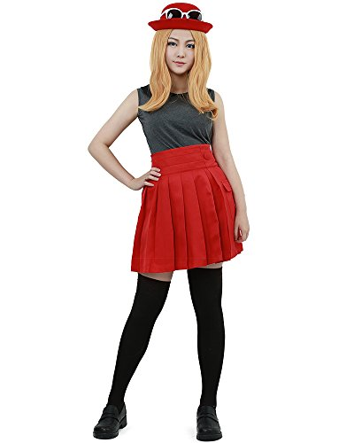 Serena Costume Pokemon (Miccostumes Women's Pokémon X and Y Serena Cosplay Costume (women)