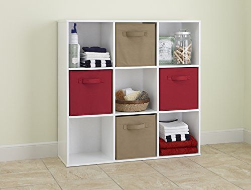 closetmaid 421 cubeicals organizer 9 cube white buy online in uae home garden products in. Black Bedroom Furniture Sets. Home Design Ideas