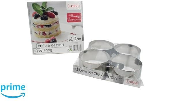 CHG  Dessert Ringe 4er Set