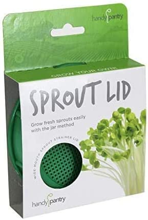 Sprouting Jar Strainer Lid