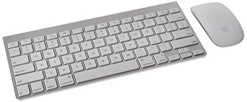 Apple Wireless Keyboard with Apple Magic Bluetooth Mouse (Certified Refurbished) - Wireless Mouse Keyboard Apple