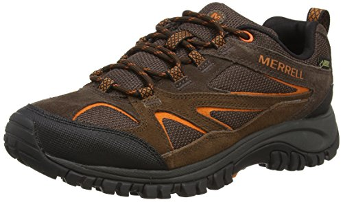 Low Men'S Brown Brown Merrell GTX Hiking Bluff Shoes Phoenix Dark Rise UqFFBxgIw