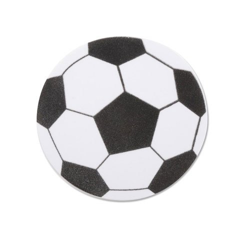 Set of 20 Large Foam Soccer Ball Shapes