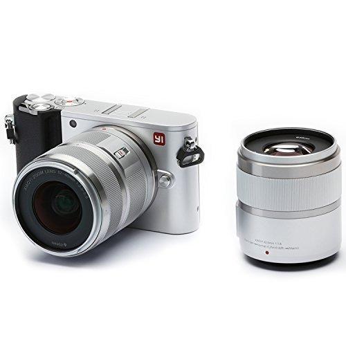 YI 4K 20MP Mirrorless Digital Camera with LCD Touchscreen, W